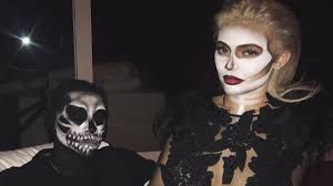 Skeleton Makeup For Halloween by Kylie Jenner Turns Heads As A Skeleton At Epic Halloween