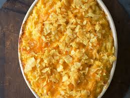 classic macaroni and cheese with potato chip crumble recipe kate