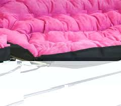 Pink Sofa Bed by Papasan Dorm Sofa Pink Dorm Seating College Futon Dorm Lounge