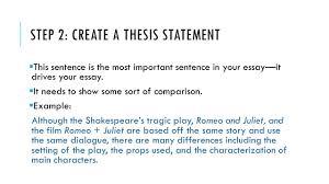 HOW TO WRITE A COMPARE CONTRAST ESSAY  PURPOSE A comparison essay     SlidePlayer