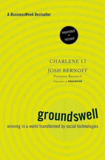 Cover of Groundswell by Charlene Li and Josh Bernoff