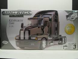kenworth models list amazon com big rigs kenworth t600 medal body model kit 1 28 scale