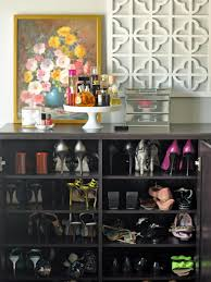 Space Saving Closet Ideas With A Dressing Table Closet Storage Ideas Hgtv