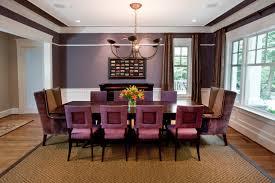 Purple Dining Room Dining Rooms Sandy Spring Builders