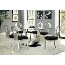Steve Silver Dining Room Furniture Dining Table Black And Silver Dining Room Chairs Steve Silver
