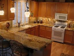 Kitchen Backsplash Options Kitchen Light Maple Kitchen Cabinets With Granite Countertops And