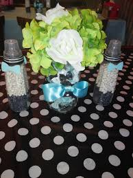 Boy Baby Shower Centerpieces by Bow Ties And Bottles Themed Baby Shower Centerpieces Mason Jars
