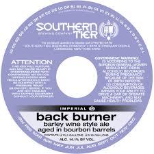 Southern Tier Bourbon Barrel Back Burner