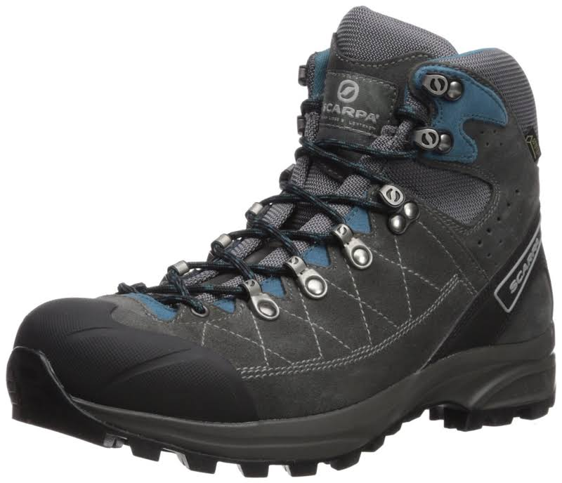 Scarpa Kailash Trek GTX Backpacking Boots Shark Grey/Lake Blue Wide 41.5 61056/200.3-SrkgryLkblu-41.5