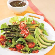 roasted asparagus salad recipe myrecipes