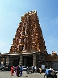 Nanjangud temple gopuram.