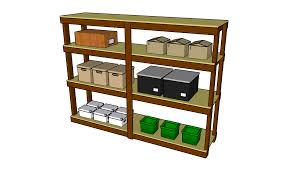 Build Wood Garage Shelves by Garage Shelves Plans Myoutdoorplans Free Woodworking Plans And