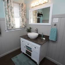 How To Install A Vessel Sink - Height of bathroom vanity for vessel sink
