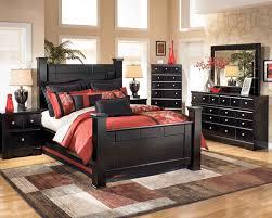 Bedroom Suites For Sale Shay Poster Bedroom Set In Black