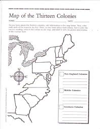 free printable 13 colonies map social studies pinterest free