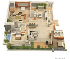 House Floor Plan Small House Plans 3d Models Small Free Printable Images House
