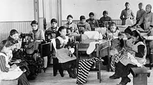 children in a residential school