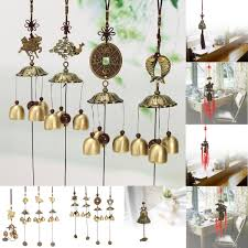 Feng Shui Home Decor by Feng Shui Bell Wind Chime Chinese Lucky Fortune Car Hanging