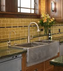 cream subway tile backsplash granite counter tops and cream