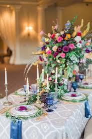 Rainbow Wedding Centerpieces by Reception Décor Photos Extravagant Boho Chic Centerpieces