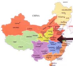 Map Of China Provinces Henan And Its Foods