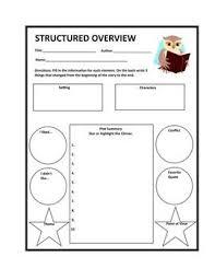 Asks Students  Students Review  Overview Teachers  Structured Overview  Teachers Literature  Organizer Helps  Classroom English  Teacher Pay Teachers Pinterest