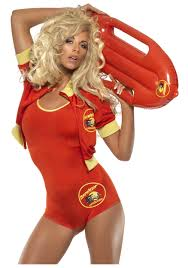 swimsuit halloween costumes baywatch lifeguard costume