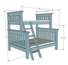 Wood Loft Bed Plans by Best 25 Bunk Bed Ideas On Pinterest Kids Bunk Beds Low Bunk