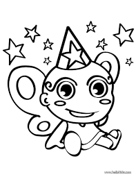 fairy toy coloring pages hellokids com