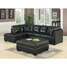 leather sectional sofa recliner black leather sectional sofa stunning inspiration modern black