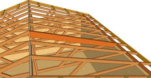 A Frame House Cost How To Turn Flat Engineered Roof Truss System Into Cathedral
