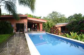 Pool Guest House House With Guest House And Swimming Pool Tropical Garden In The