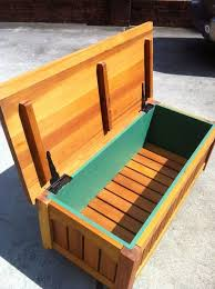 Basic Wood Bench Plans by Best 25 Outdoor Storage Benches Ideas On Pinterest Pool Storage