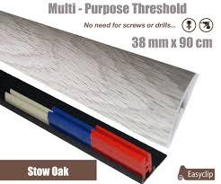 Laminate Flooring No Transitions Stowe Oak 38mmx 90cm Laminate Multi Purpose Transition Threshold