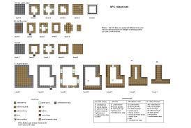 L Shaped House Floor Plans Minecraft House Blueprints Google Search Minecraft Pinterest