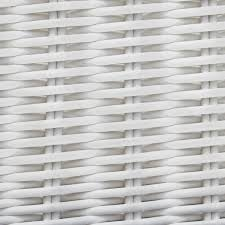 White Resin Wicker Outdoor Patio Furniture Set - everglades white resin wicker patio chaise lounge by lakeview