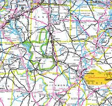 Roanoke Virginia Map by Interstate Guide Interstate 73