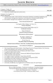 Construction Management Resume Examples by Construction Manager Resumes Construction Project Manager Resume