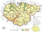 Judetul Salaj - Harta Romaniei