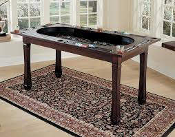 dining pool table combo home dining blue wave newport 7 foot