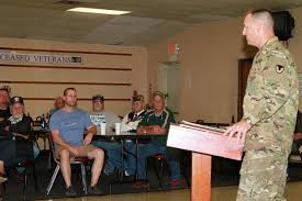 Commander talks service to the nation  lauds WWII vets   Article     Army Commander talks service to the nation  lauds WWII vets