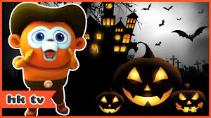 halloween the gloomy ghost halloween cartoons hooplakidz tv