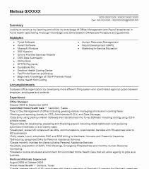 Sample Resume Of Office Administrator by Best Office Manager Resume Example Livecareer