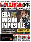 Newspaper MARCA (Spain). Newspapers in Spain. Wednesday's edition ...