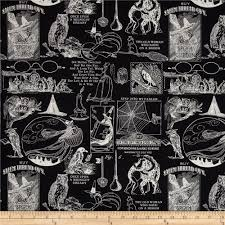 antique halloween background halloween discount designer fabric fabric com