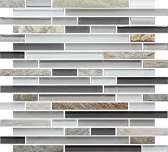Slate Kitchen Backsplash Slate Glass Mosaic Tile Linear White Glass Mosaic Tiles Slate