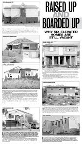 homes were raised after katrina with taxpayer money then
