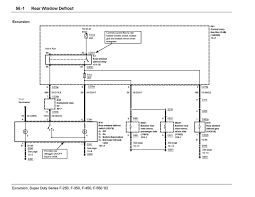 wiring diagram for rear window defrost circuit 2002 2005 eatc