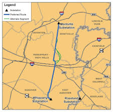 Map Nj Neighbors Group In Parsippany Fights Jcp U0026l Proposal For