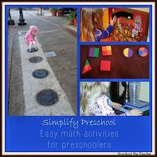 unschool the teacher simplify preschool math